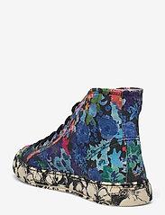 STINE GOYA - Zita, 1192 Cotton Canvas Sneakers - lage sneakers - 60s allover - 2