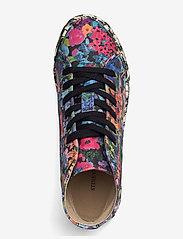 STINE GOYA - Zita, 1192 Cotton Canvas Sneakers - lage sneakers - 60s allover - 3