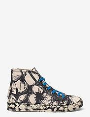 STINE GOYA - Zita, 1192 Cotton Canvas Sneakers - lave sneakers - opium negative - 1