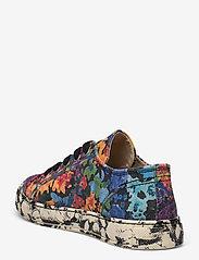STINE GOYA - Eneko, 1192 Cotton Canvas Sneakers - lage sneakers - 60s allover - 2