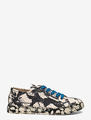 STINE GOYA - Eneko, 1192 Cotton Canvas Sneakers - lave sneakers - opium negative - 1