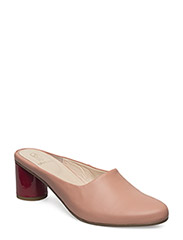 Layla, 230 Slide Pumps - APRICOT