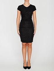 STINE GOYA - Brush Dress, Orions - stramme kjoler - black - 0