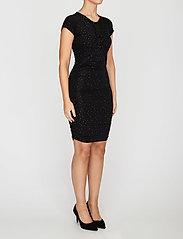STINE GOYA - Brush Dress, Orions - stramme kjoler - black - 3