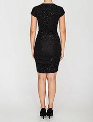 STINE GOYA - Brush Dress, Orions - stramme kjoler - black - 4