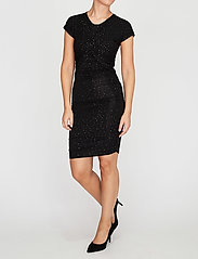 STINE GOYA - Brush Dress, Orions - stramme kjoler - black - 5