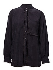 Selby, 302 Fringed Cupro - 1608 MIDNIGHT
