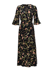 Kirsten, 330 Peach Tree Viscose - PEACH TREE BLACK
