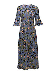 Kirsten, 330 Peach Tree Viscose - PEACH TREE BLUE
