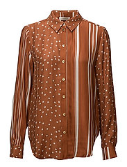 Maxwell, 332 Dot and Stripes - DOTS AND STRIPES RUST