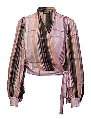 Glenda, 383 Printed Woven Stripes - ILLUSION