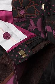 STINE GOYA - Sonia, 389 Collage Tailored - leveälahkeiset housut - collage rust - 3