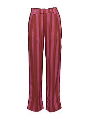 Vinnie, 416 Viscose - STRIPES RASPBERRY