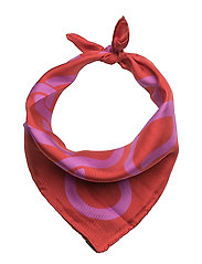 Tilda, 450 Silk Scarves - MAZE RED