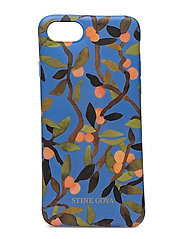 Molly, 401 Iphone Cover - PEACH TREE BLUE