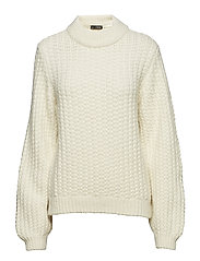 Lindsey, 433 Alpaca Knit - OFF WHITE