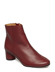 Kansas, 457 Leather Shoes - BORDEAUX