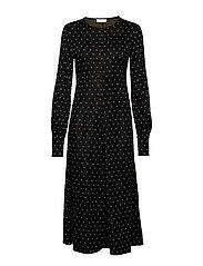 Ester, 462 Mervidelux Knit - DOTS BLACK