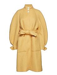 Celeste, 477 Wool Outerwear - DAFFODIL