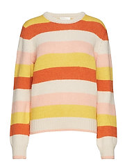 Kalle, 505 Striped Knit - STRIPES SOFT
