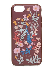 Molly, Iphone Cover 6/7/8 - FLOWERS MOCHA