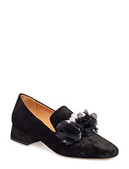 Sigrid, 496 Velvet Shoes - BLACK
