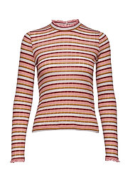 Angelica, 508 Rib Jersey - STRIPES