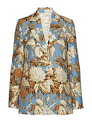 Florence, 529 Printed Tailoring - BLUE HORTENSIA