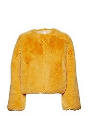 Randy, 533 Faux Fur Outerwear - AMBER