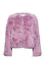 Randy, 533 Faux Fur Outerwear - LILAC