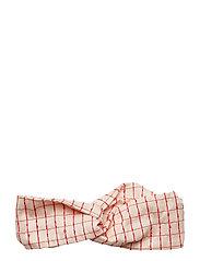Headband, 522 Woven Cotton - CHECKS