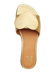 42a943d7a8e Amina, 539 Gold Leather Shoes (Gold) (1050 kr) - STINE GOYA ...