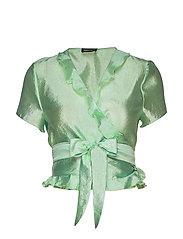 Ella, 576 Textured Polyester - 1708 JADE