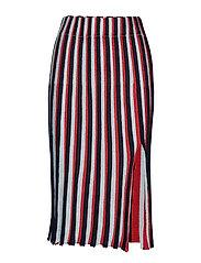 Wesley, 581 Sparkle Knit - 1762 STRIPES