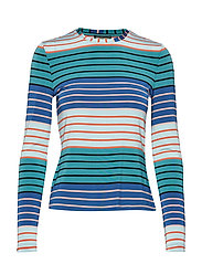 Maya, 623 Light Jersey - STRIPES MULTI