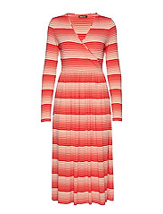 Alina, 623 Light Jersey - STRIPES RED