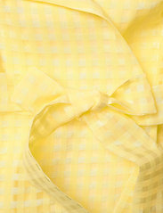 STINE GOYA - Chinie, 864 Gingham Poly - omlottklänningar - marigold - 3