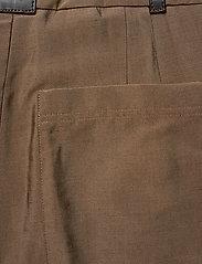 STINE GOYA - Chet, 847 Tailoring - bukser med lige ben - mocha - 3