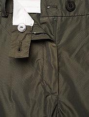 STINE GOYA - Laia, 924 Taffeta - bukser med lige ben - seaweed green - 5