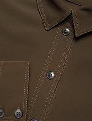 STINE GOYA - Shania, 1041 Solid Cady - kläder - cedar - 4
