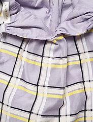 STINE GOYA - Samantha, 1094 Checkered Organza - cocktailkjoler - checks - 4