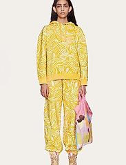 STINE GOYA - Adrisa, 1093 Tracksuit Zebra - sweatshirts & hættetrøjer - zebra orange - 0