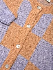 STINE GOYA - Ash, 1145 Alpaca Knit - koftor - checks - 2