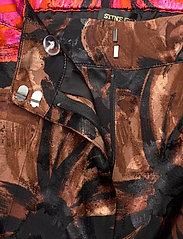 STINE GOYA - Charlotte, 1167 Pajama Jacquard - casual bukser - opium brown - 3
