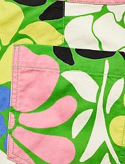 STINE GOYA - Presley, 1175 Printed Gabardine - casual bukser - banana leaf - 4