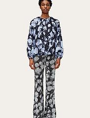 STINE GOYA - Andy, 1185 Printed Knit - tøj - opium negative - 0
