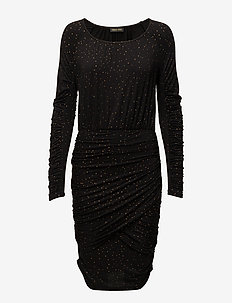Balance Dress, Orions - BLACK