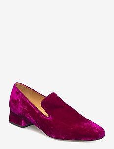 Sigrid, 458 Velvet Shoes - FUCHSIA