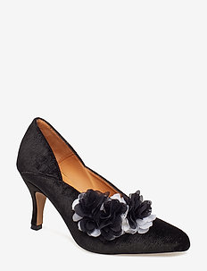 Lou, 496 Velvet Shoes - klassiske pumps - black