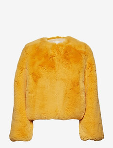 Randy, 533 Faux Fur Outerwear - AMBER